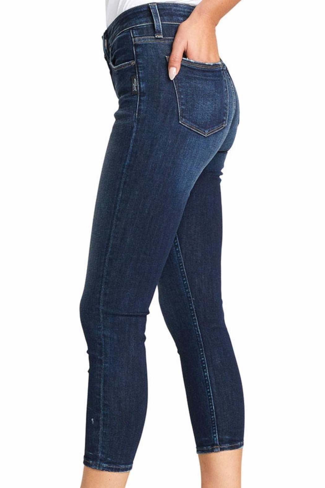 Silver Jeans Co. Avery Skinny Crop - Front Full Image