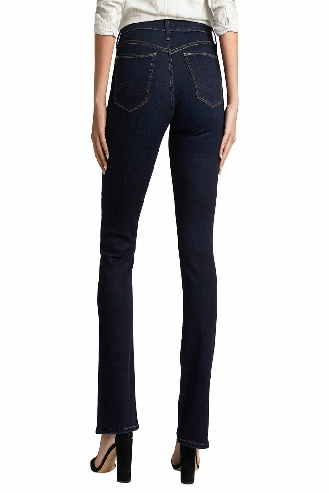Silver Jeans Co. Avery-Slim High-Rise Jeans - Front Full Image