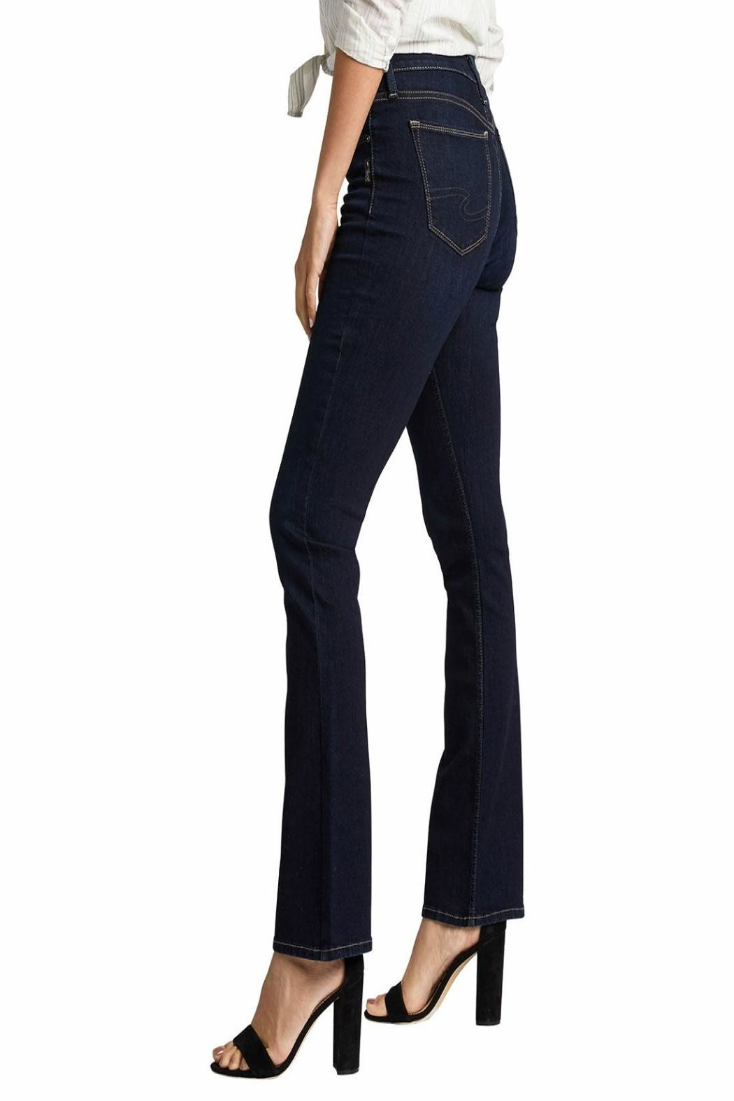 Silver Jeans Co. Avery-Slim High-Rise Jeans - Side Cropped Image