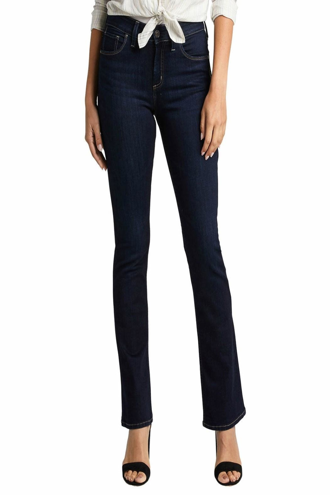 Silver Jeans Co. Avery-Slim High-Rise Jeans - Main Image