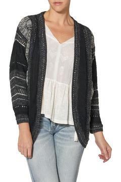 Silver Jeans Co. Black Cocoon Cardigan - Product List Image