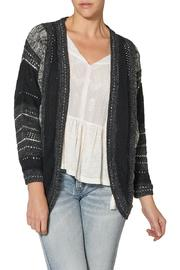 Silver Jeans Co. Black Cocoon Cardigan - Product Mini Image