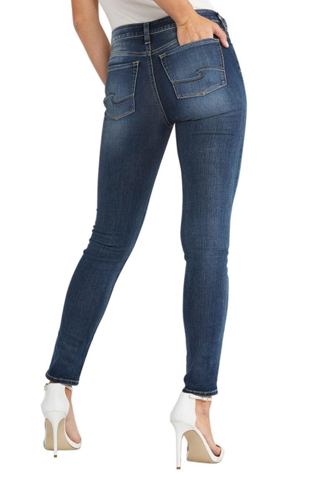 Silver Jeans Co. Bleeker Classic Jegging - Front Full Image