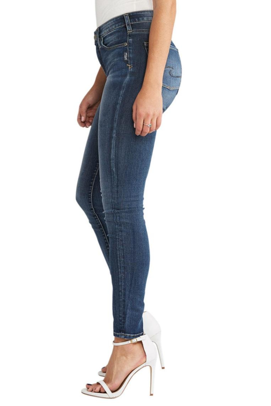 Silver Jeans Co. Bleeker Classic Jegging - Side Cropped Image