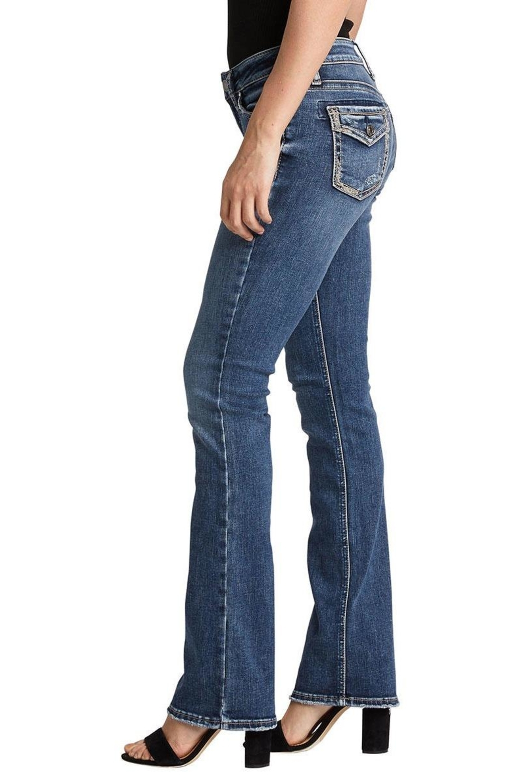 Silver Jeans Co. Boot Cut Jeans - Side Cropped Image