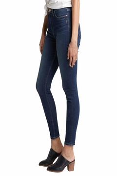 Silver Jeans Co. Calley High-Rise Skinny-Jean - Alternate List Image