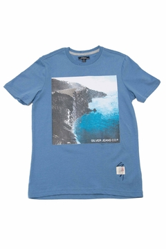 Silver Jeans Co. Cliff Blue Shirt - Product List Image
