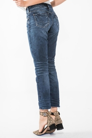 Silver Jeans Co. Elyse Ankle Jean - Front full body
