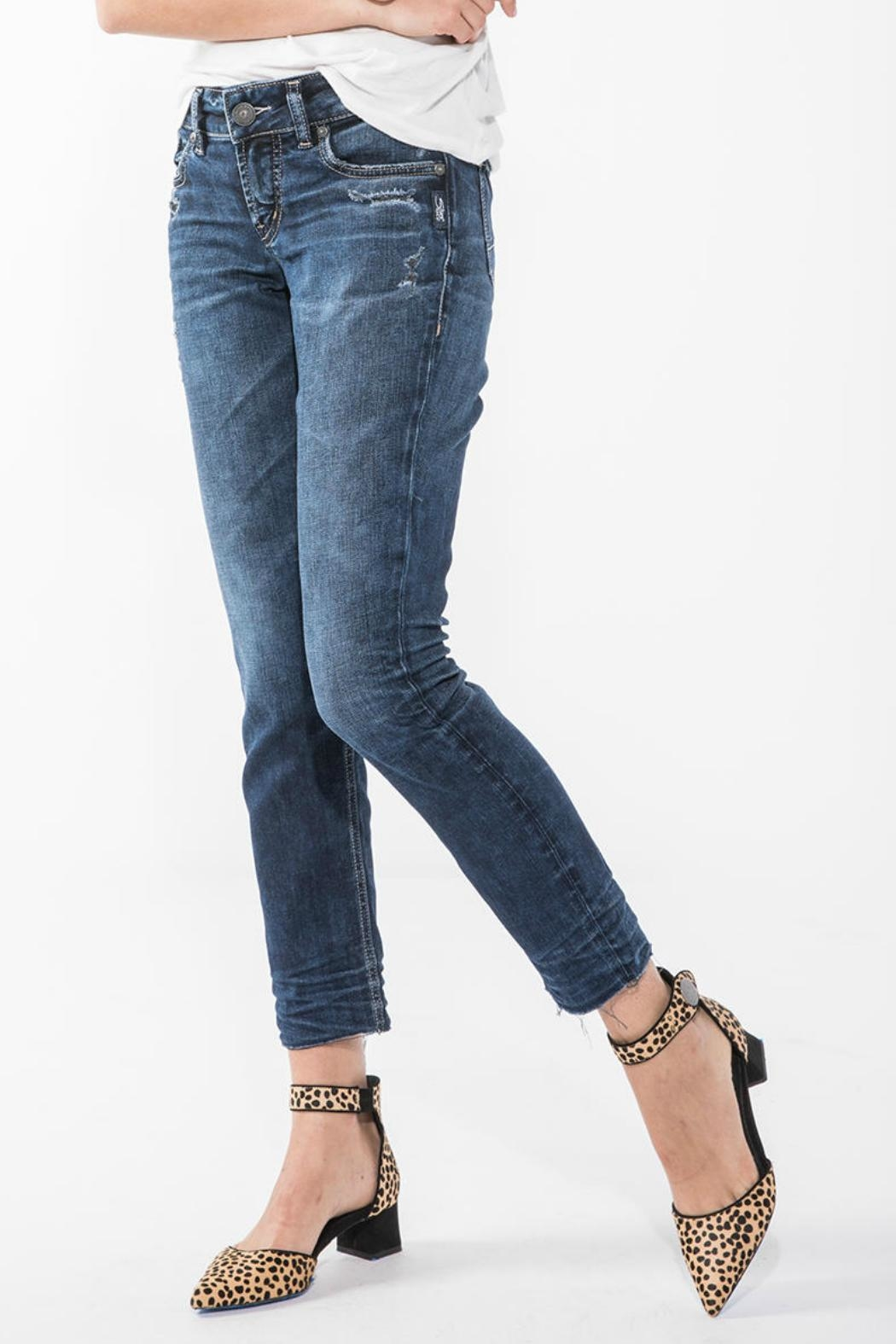 Silver Jeans Co. Elyse Ankle Jean - Main Image