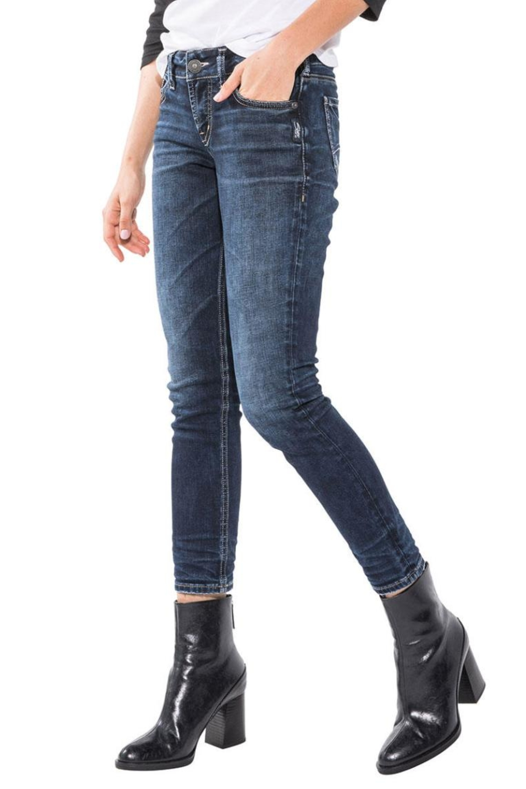 Silver Jeans Co. Elyse Ankle Slim - Main Image