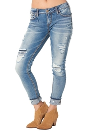Silver Jeans Co. Girlfriend Crop Skinny - Product Mini Image