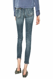 Silver Jeans Co. Girlfriend Mid-Rise Jeans - Front full body