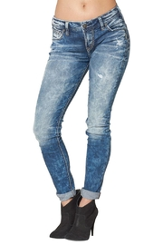 Silver Jeans Co. Girlfriend Super-Stretch Skinny - Product Mini Image