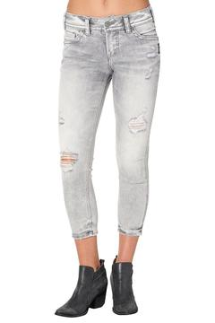 Silver Jeans Co. Grey Elyse Jeans - Product List Image