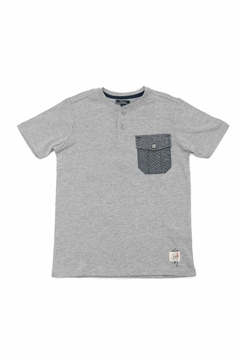 Silver Jeans Co. Grey Pocket T-Shirt - Product List Image