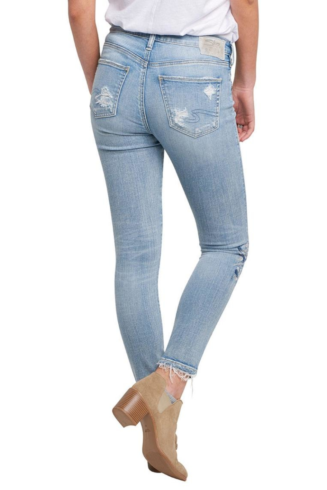 Silver Jeans Co. Izzy Ankle Skinny - Front Full Image