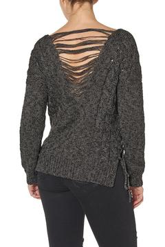 Shoptiques Product: Lace Up Back Detailed Sweater