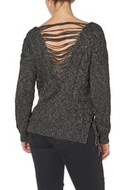 Silver Jeans Co. Lace Up Back Detailed Sweater - Front full body