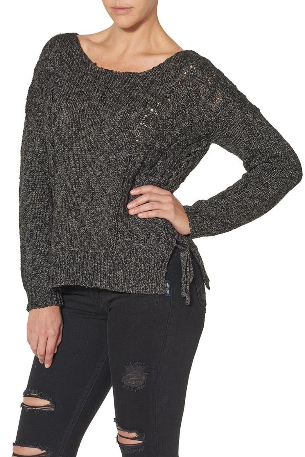 Silver Jeans Co. Lace Up Back Detailed Sweater - Main Image