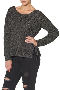 Silver Jeans Co. Lace Up Back Detailed Sweater - Product List Image