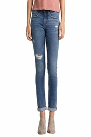 Silver Jeans Co. Not Your-Boyfriend's Jeans - Front cropped