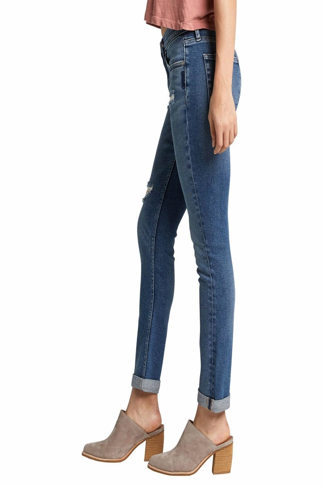 Silver Jeans Co. Not Your-Boyfriend's Jeans - Side Cropped Image