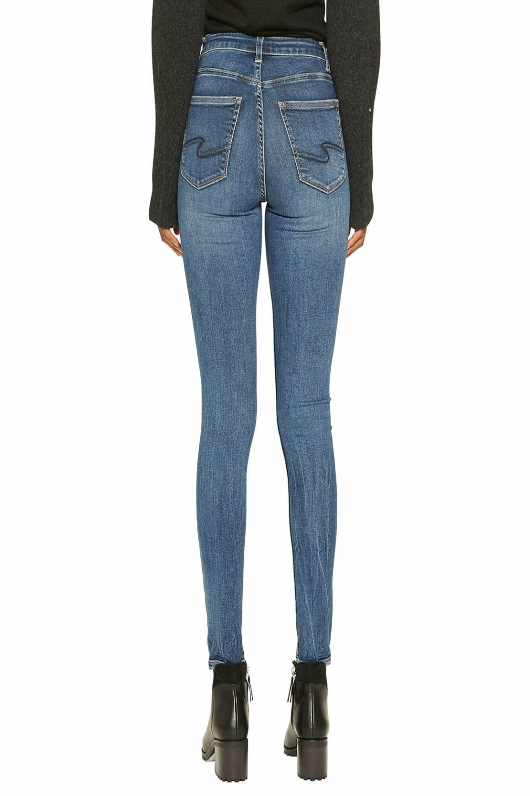 Silver Jeans Co. Robson High-Rise Skinny - Front Full Image