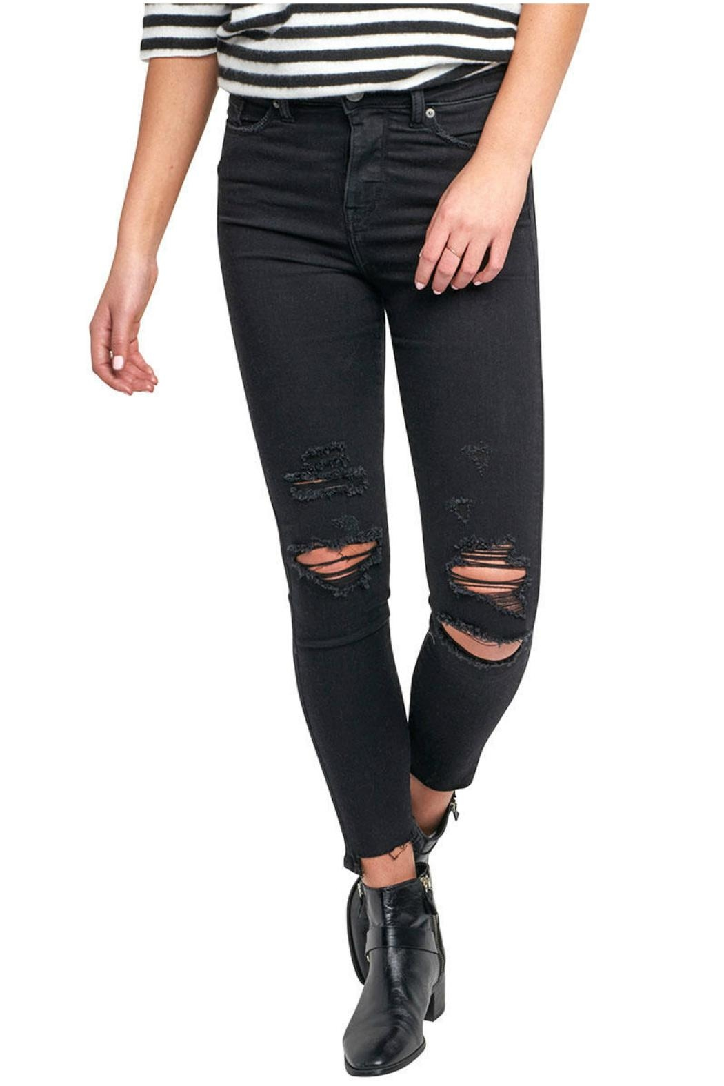 Silver Jeans Co. Robson Ripped Jeggings - Main Image