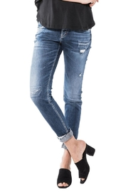 Silver Jeans Co. Sam Distressed Boyfriend - Front cropped