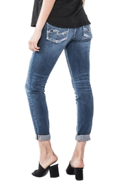 Silver Jeans Co. Sam Distressed Boyfriend - Front full body