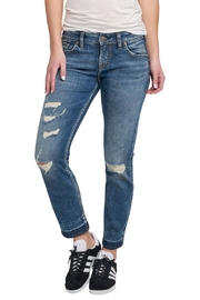 Silver Jeans Co. Sam Drop-Hem Boyfriend - Product Mini Image