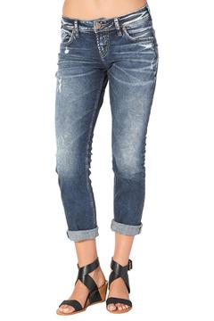 Silver Jeans Co. Sam Slouch Crop Jean - Product List Image