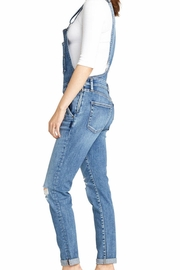 Silver Jeans Co. Skinny Denim Overall - Front full body