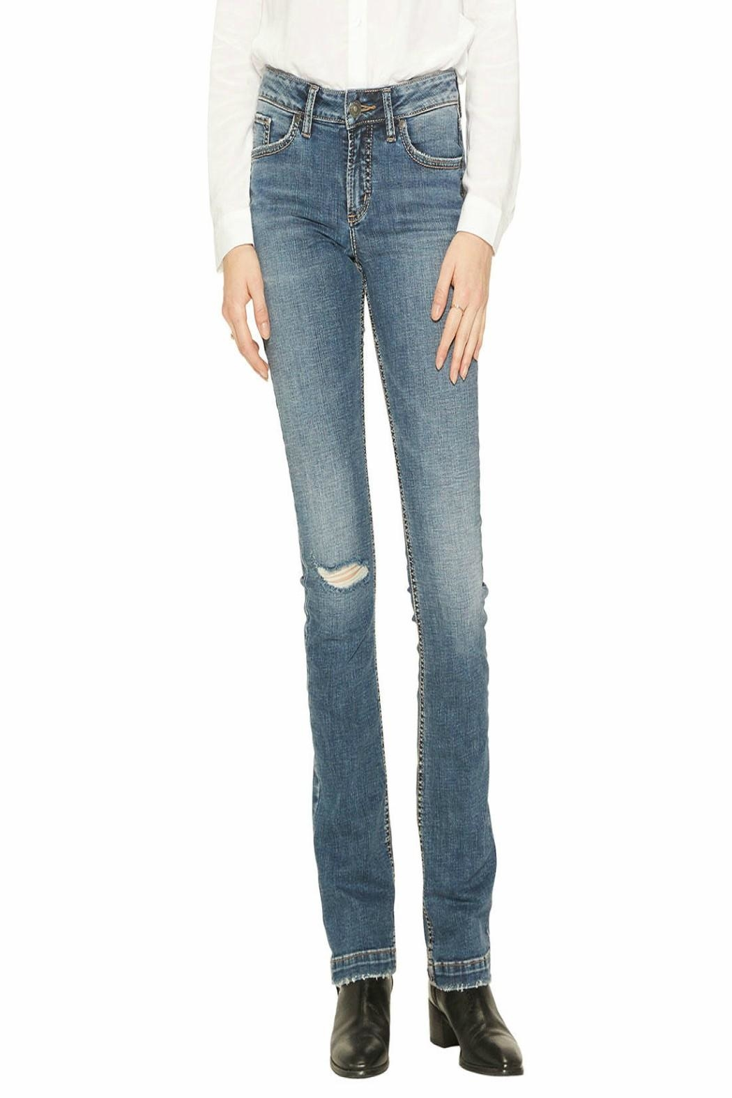 Silver Jeans Co. Slim-Boot Elyse Jeans - Main Image