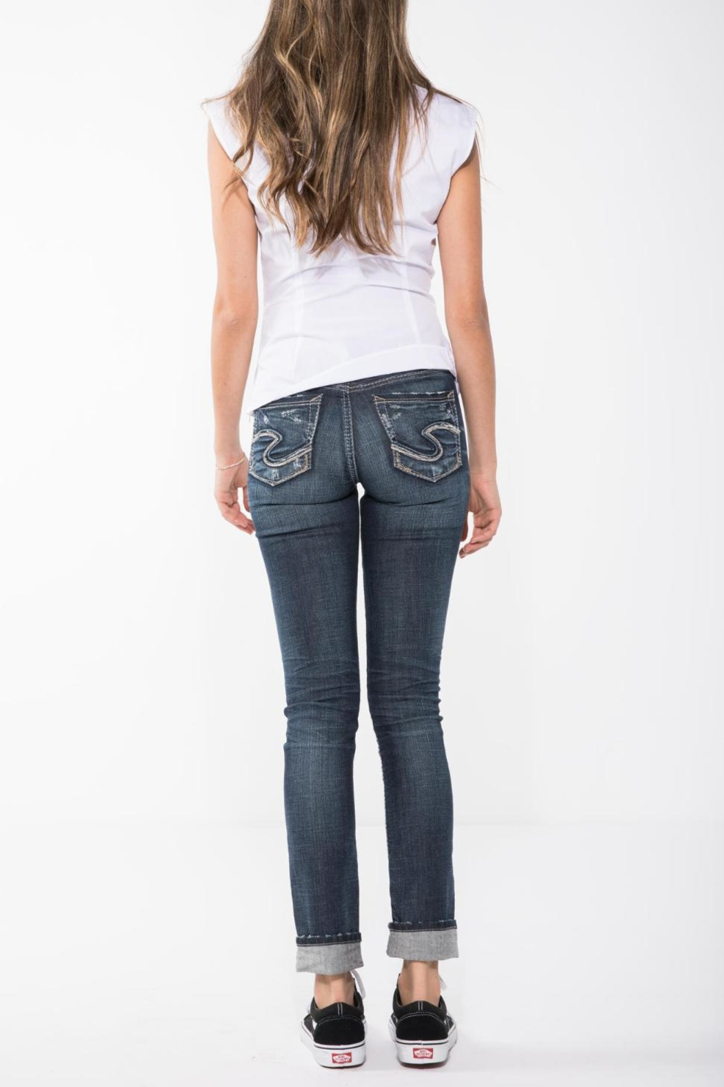 Silver Jeans Co. Suki Ankle Slim - Front Full Image