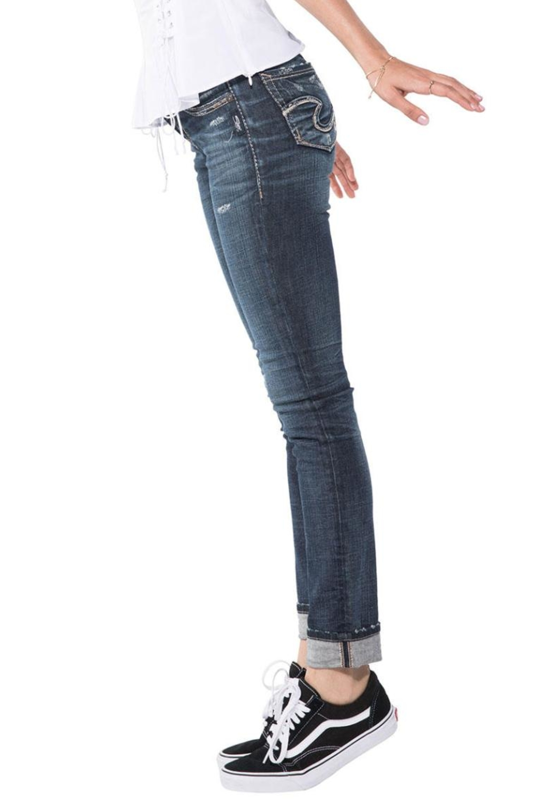 Silver Jeans Co. Suki Ankle Slim - Side Cropped Image