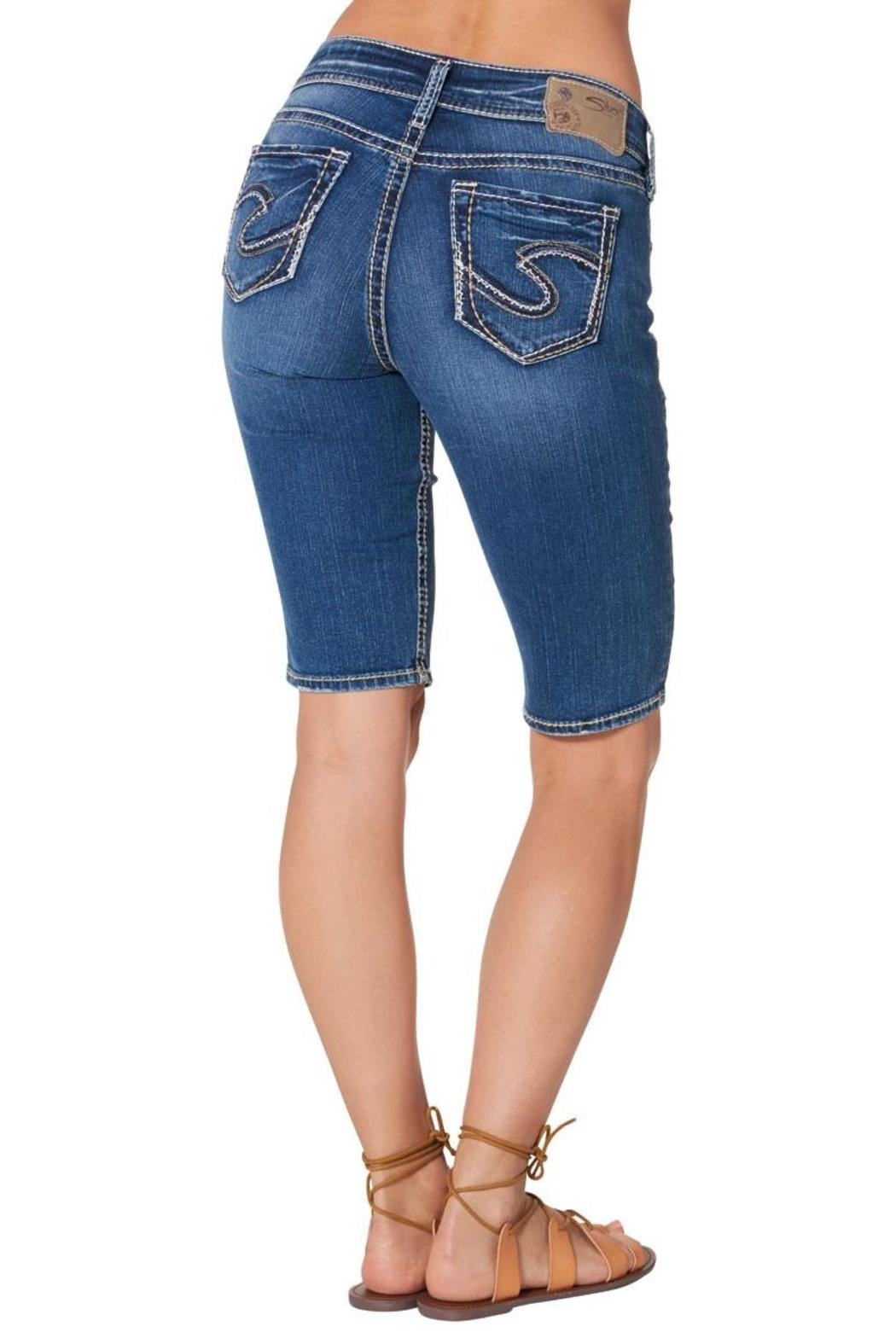 Silver Jeans Co. Suki Bermuda Short - Front Cropped Image