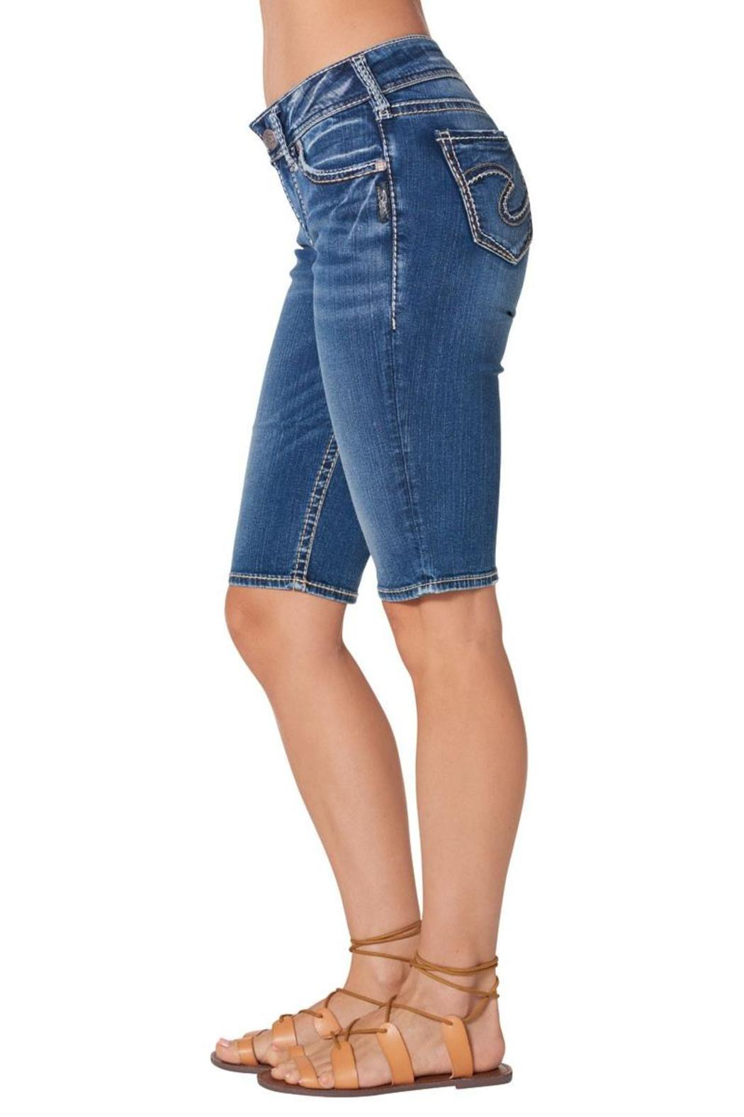 Silver Jeans Co. Suki Bermuda Short - Side Cropped Image