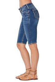 Silver Jeans Co. Suki Bermuda Short - Side cropped