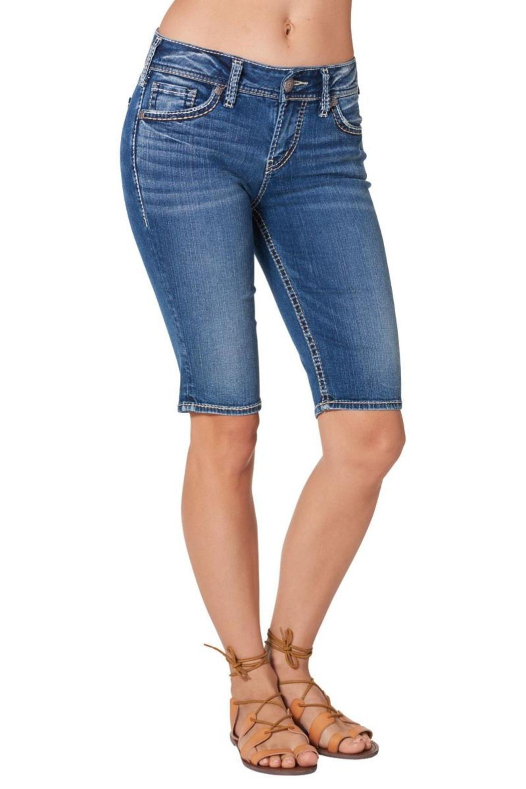 Silver Jeans Co. Suki Bermuda Short - Front Full Image