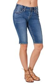Silver Jeans Co. Suki Bermuda Short - Front full body