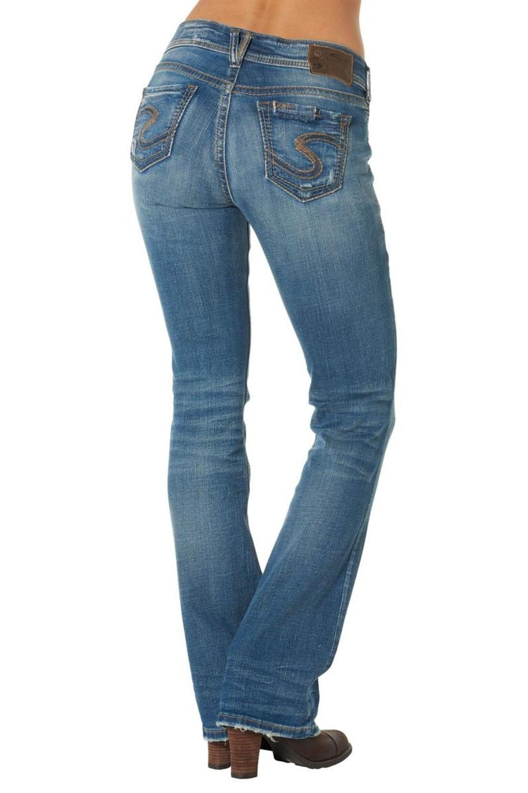 Silver Jeans Co. Suki Distressed-Bootcut - Front Full Image