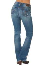 Silver Jeans Co. Suki Distressed Bootcut - Front full body
