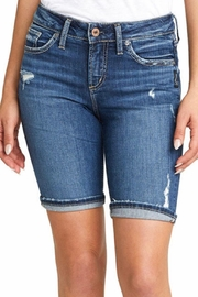 Silver Jeans Co. Suki Mid Rise Bermuda - Front cropped