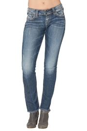 Silver Jeans Co. Suki Mid Straight - Product Mini Image