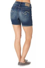 Silver Jeans Co. Suki Mid-Thigh Shorts - Front cropped