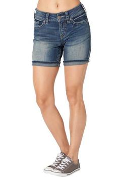 Silver Jeans Co. Suki Mid-Thigh Shorts - Product List Image