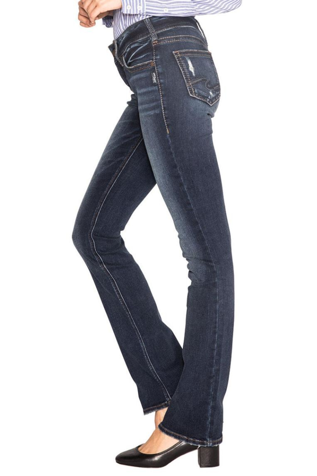 Silver Jeans Co. Suki Slim Boot - Side Cropped Image