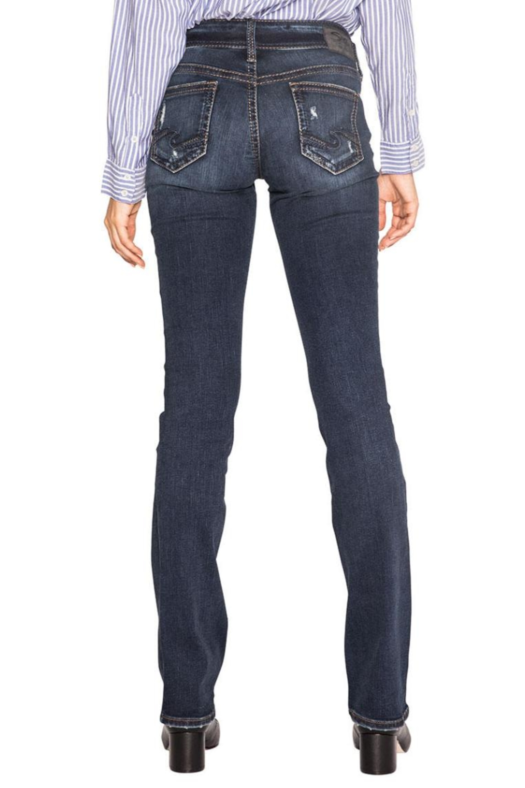 Silver Jeans Co. Suki Slim Boot - Front Full Image