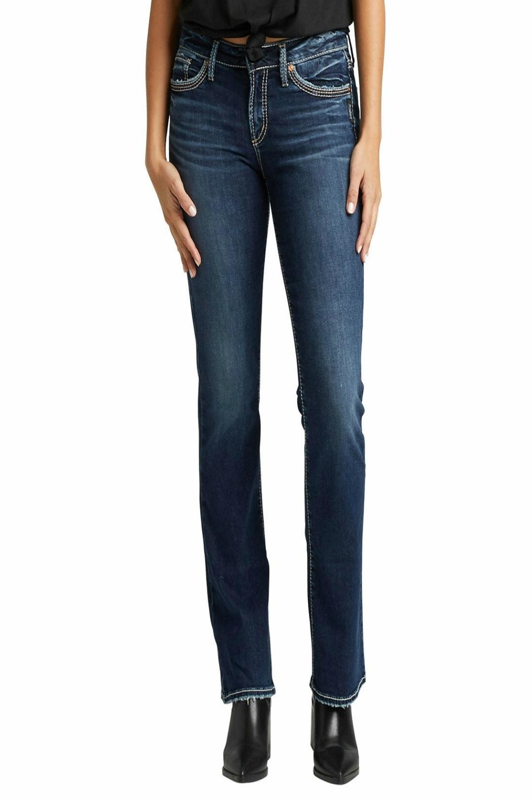 Silver Jeans Co. Suki Slim-Boot Jeans - Main Image